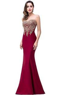 Babyonlinedress Mermaid Evening Dress for Women Formal Long Prom Dress